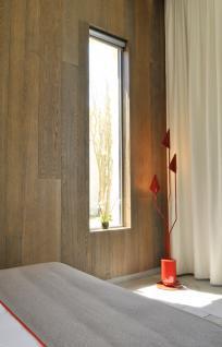 Habillage mural bois - Chambre - Hôtel Seez